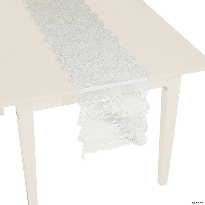 White Lace Table Runner Audio Thumbnail