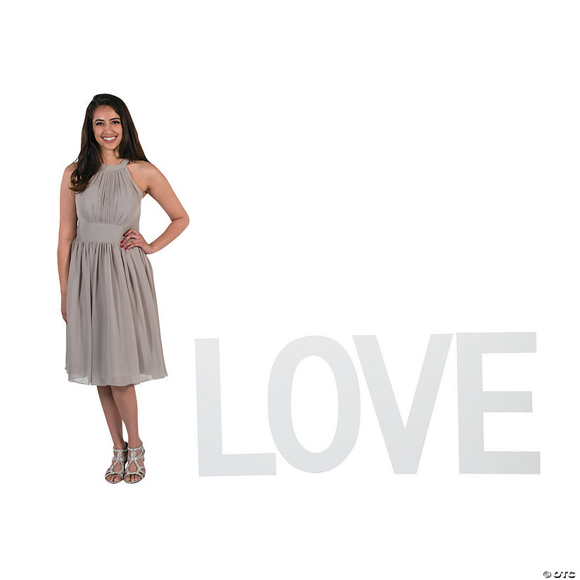 White Love Cardboard Stand-Up Audio Thumbnail