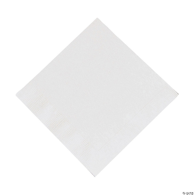 White Luncheon Napkins Audio Thumbnail