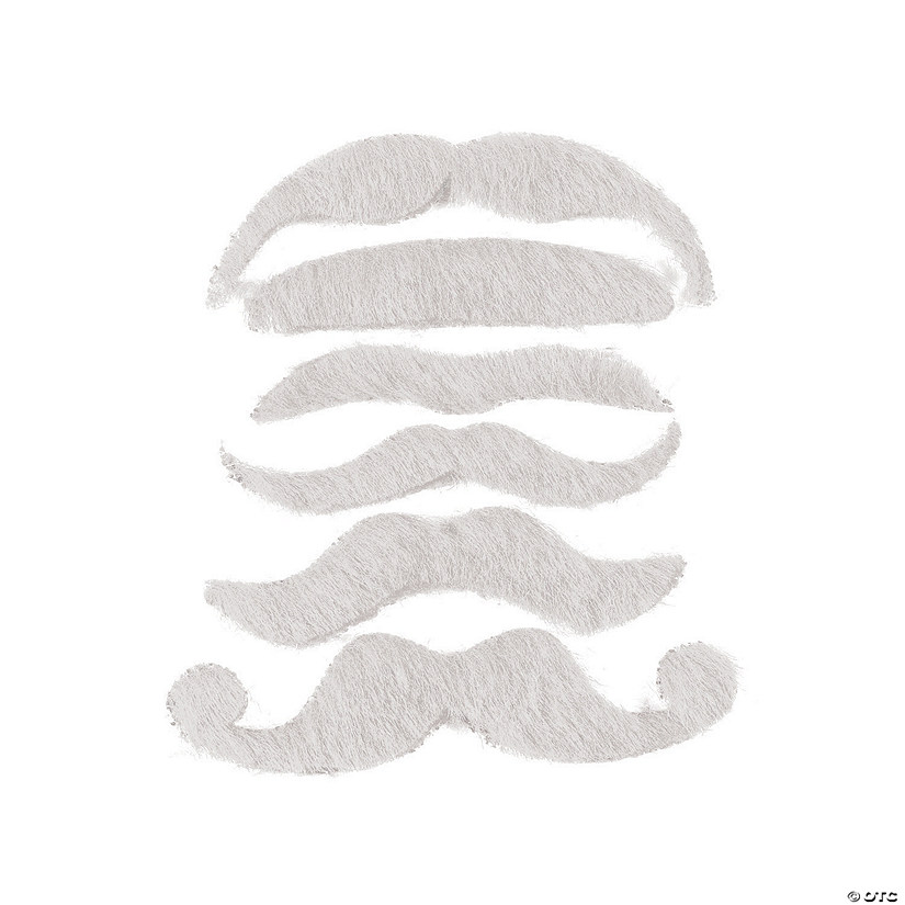 White Mustache Assortment Image Thumbnail