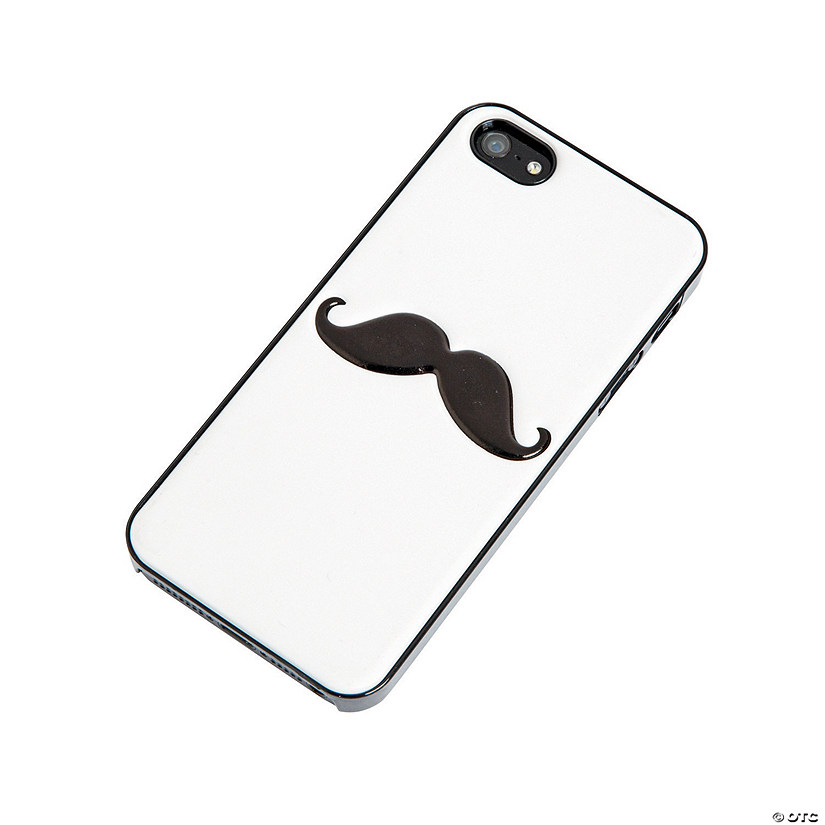 White Mustache iPhone® 5 Case