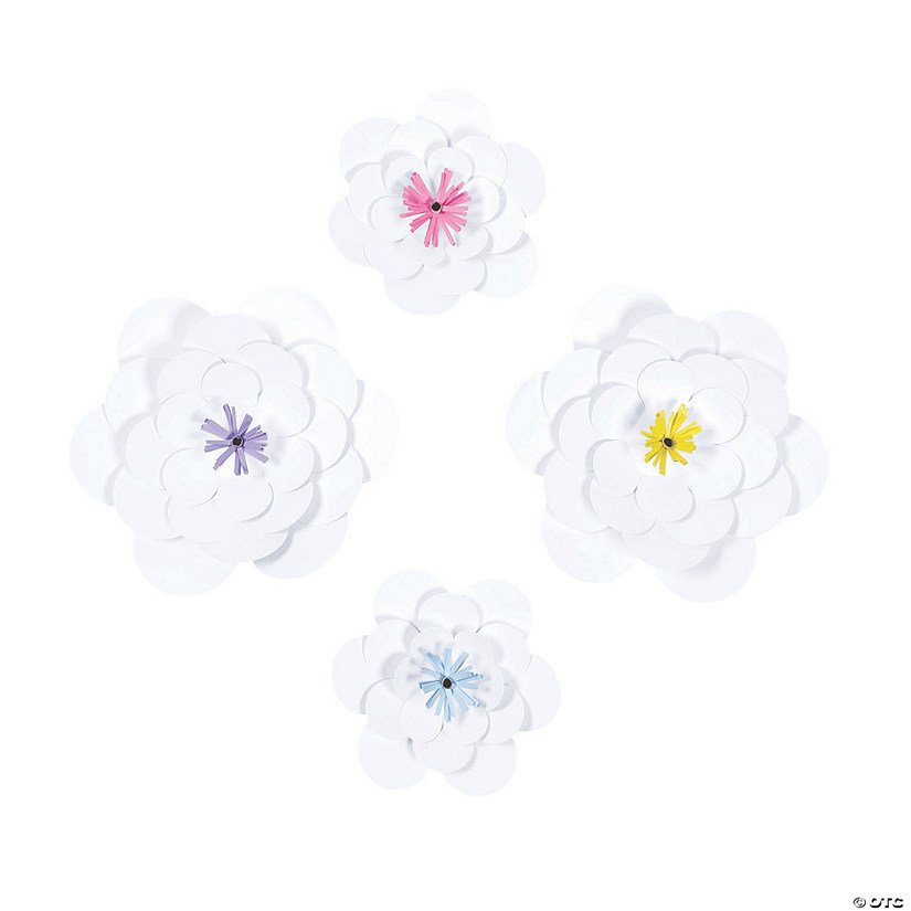 White Paper Flowers Party Décor Audio Thumbnail
