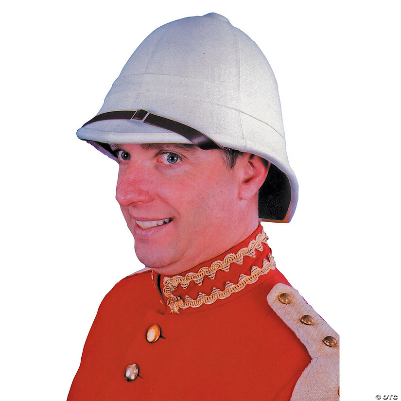 White Quality British Pith Hat