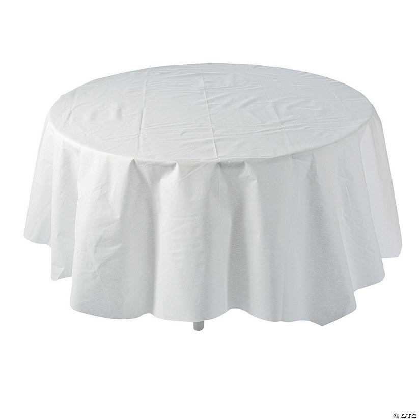White Round Tablecloth Audio Thumbnail