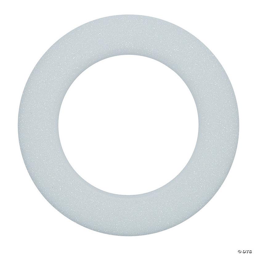 White Styrofoam Wreath - Discontinued