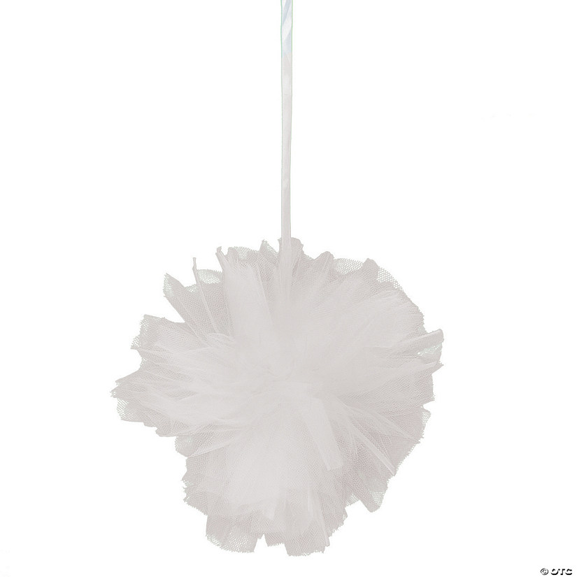 White Tulle Pom-Pom Decorations Audio Thumbnail