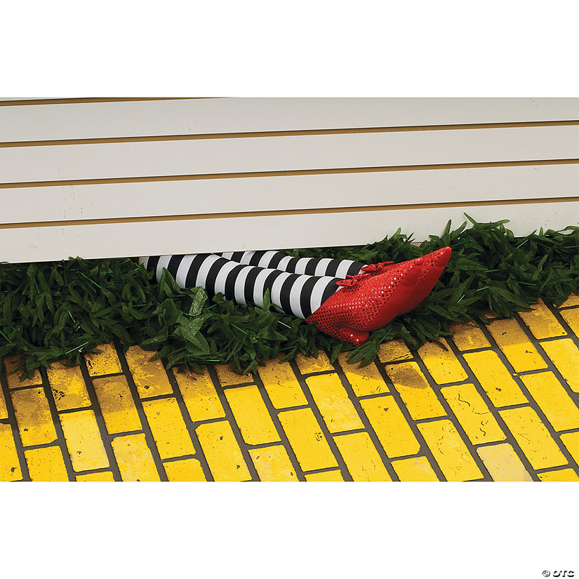 Wicked Witch Legs Halloween Décor