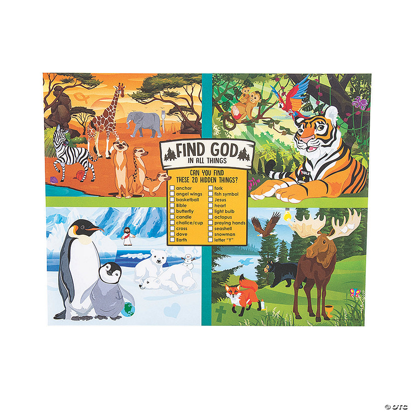 Wild Encounters VBS Image Hunt Sheets Audio Thumbnail