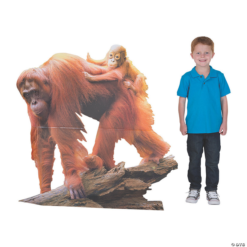 Wild Encounters VBS Orangutan Stand-Up