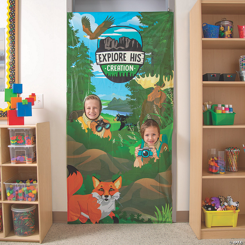 Wild Encounters VBS Photo Door Banner