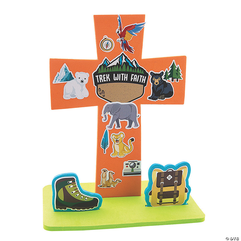 Wild Encounters VBS Stand-Up Cross Craft Kit