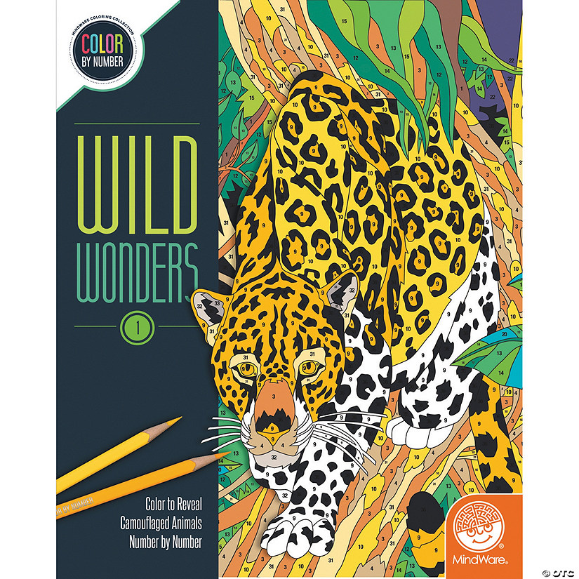 Wild Wonders Color by Number: Book 1 Image Thumbnail