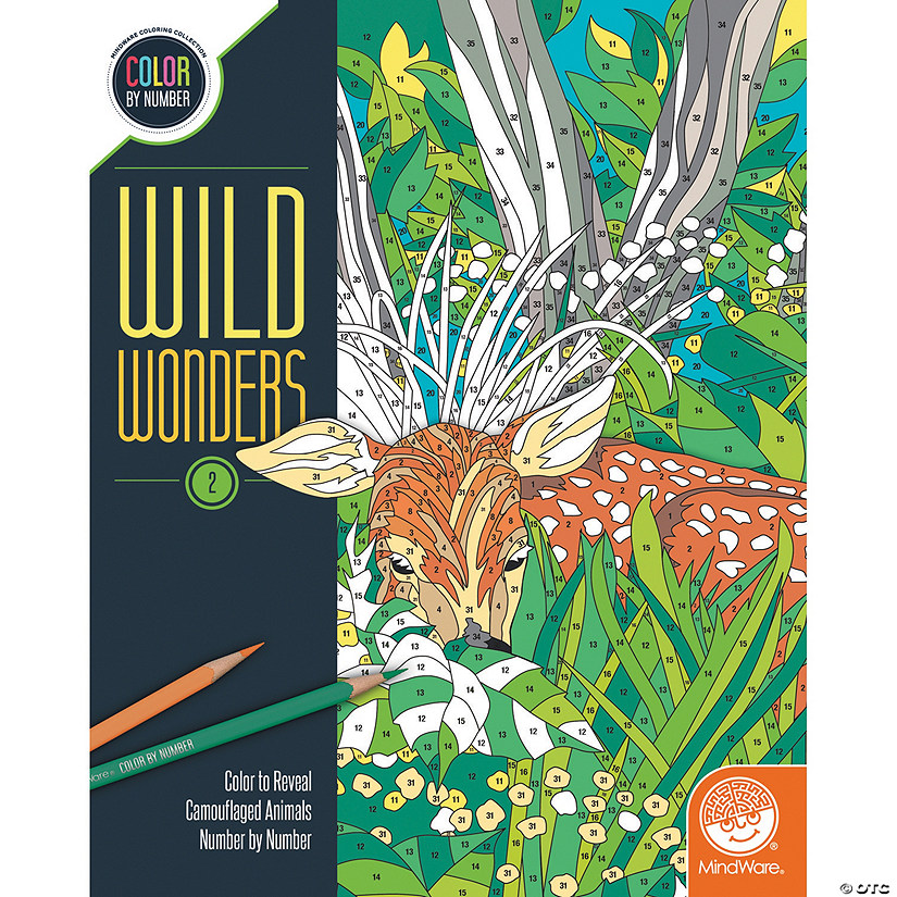 Wild Wonders Color by Number: Book 2 Image Thumbnail
