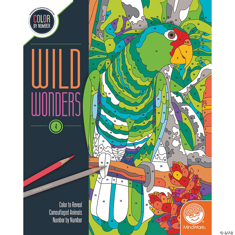 Wild Wonders Color by Number: Book 4 Image Thumbnail