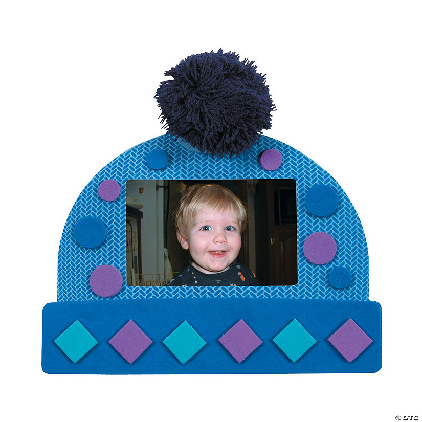Winter Hat Picture Frame Magnet Craft Kit Audio Thumbnail