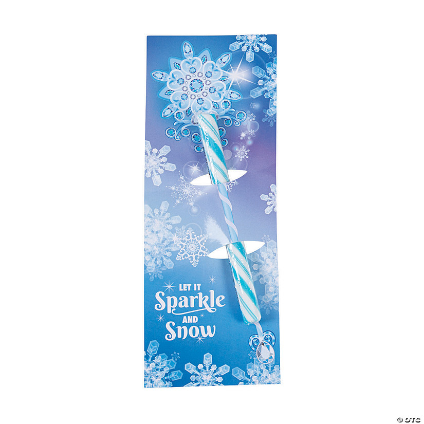Winter Princess Candy Sticks with Card Image Thumbnail