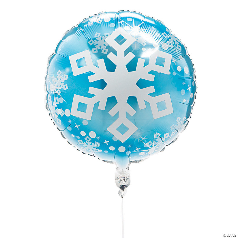 Winter Snowflake Mylar Balloons Audio Thumbnail