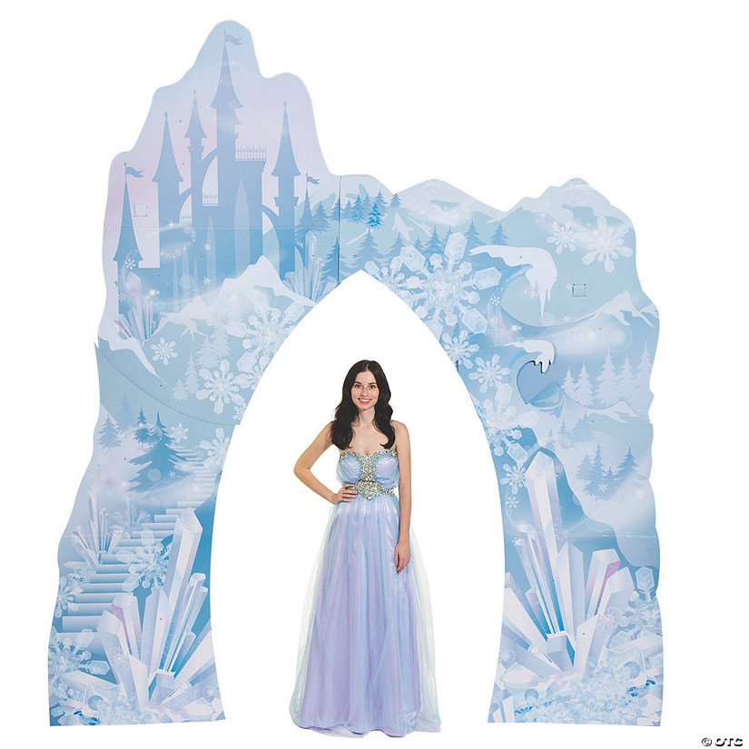 Winter Sparkle Castle Archway Cardboard Stand-Up Audio Thumbnail