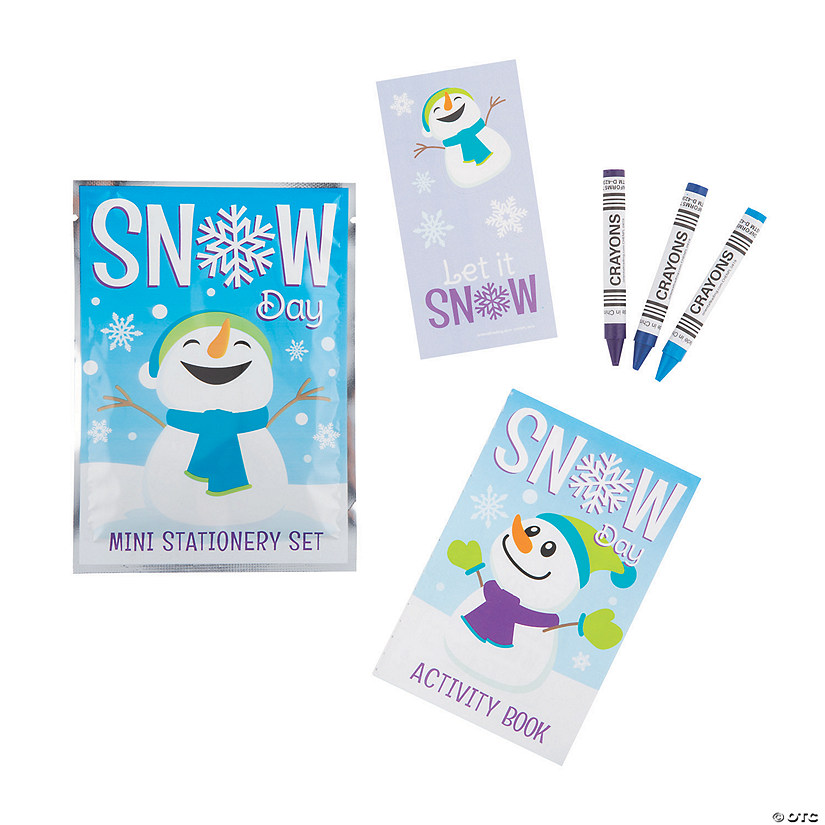 Winter Stationery Sets Oriental Trading