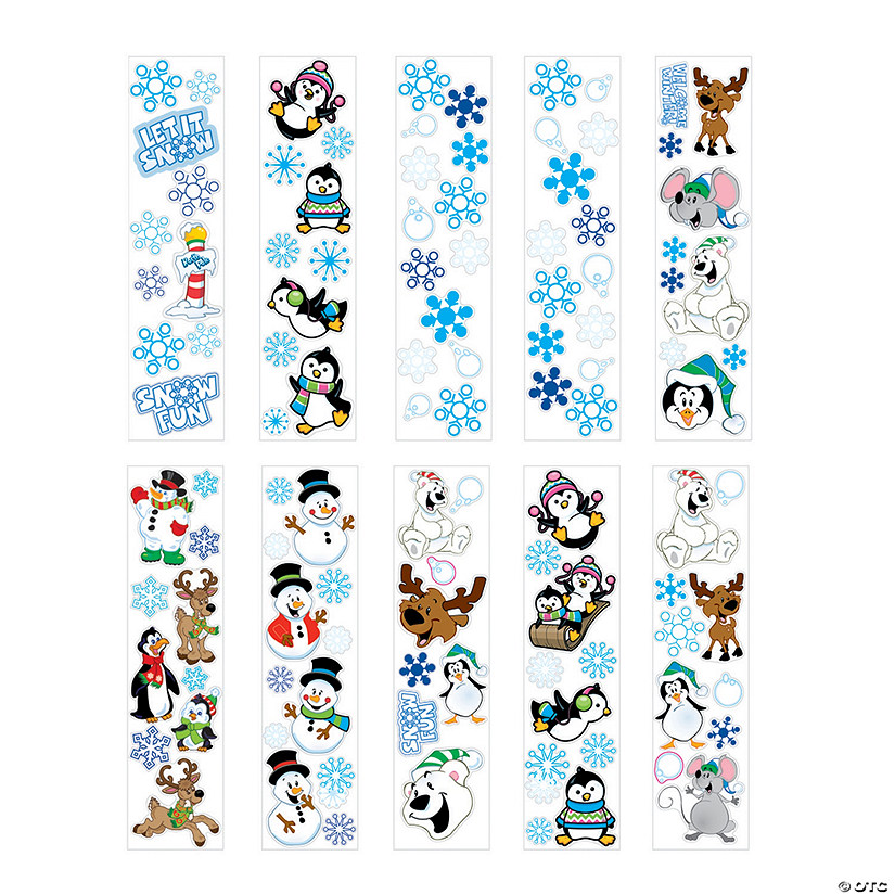 Winter Sticker Assortment Audio Thumbnail