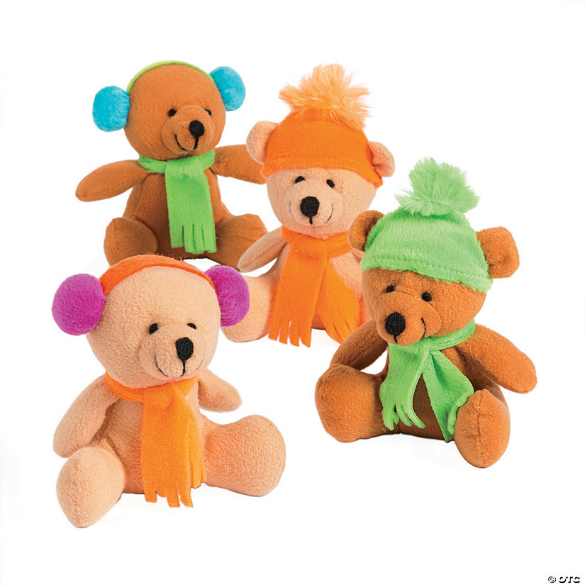 Winter Stuffed Bears Image Thumbnail
