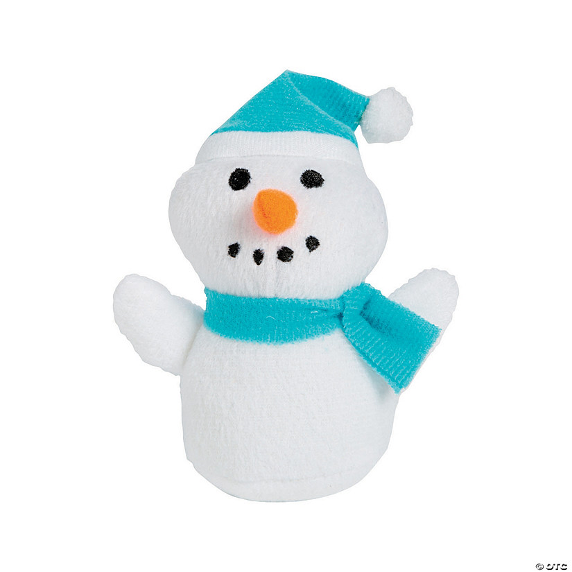 Winter Stuffed Snowmen