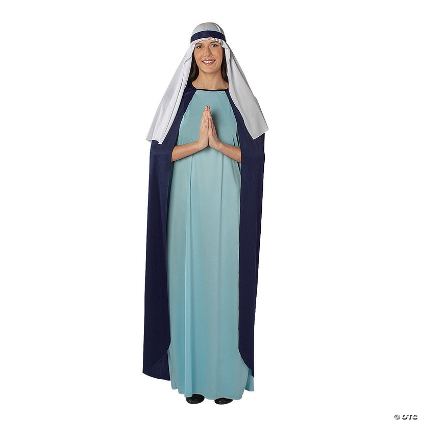 Woman's Mary Costume with Cape Image Thumbnail