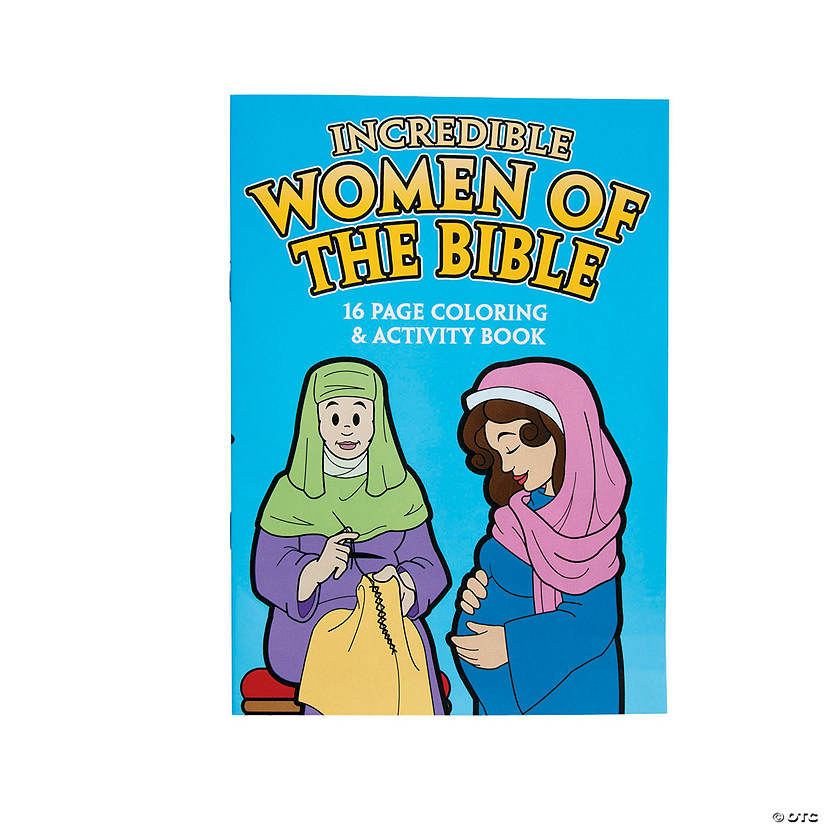 Women of the Bible Activity Books Audio Thumbnail