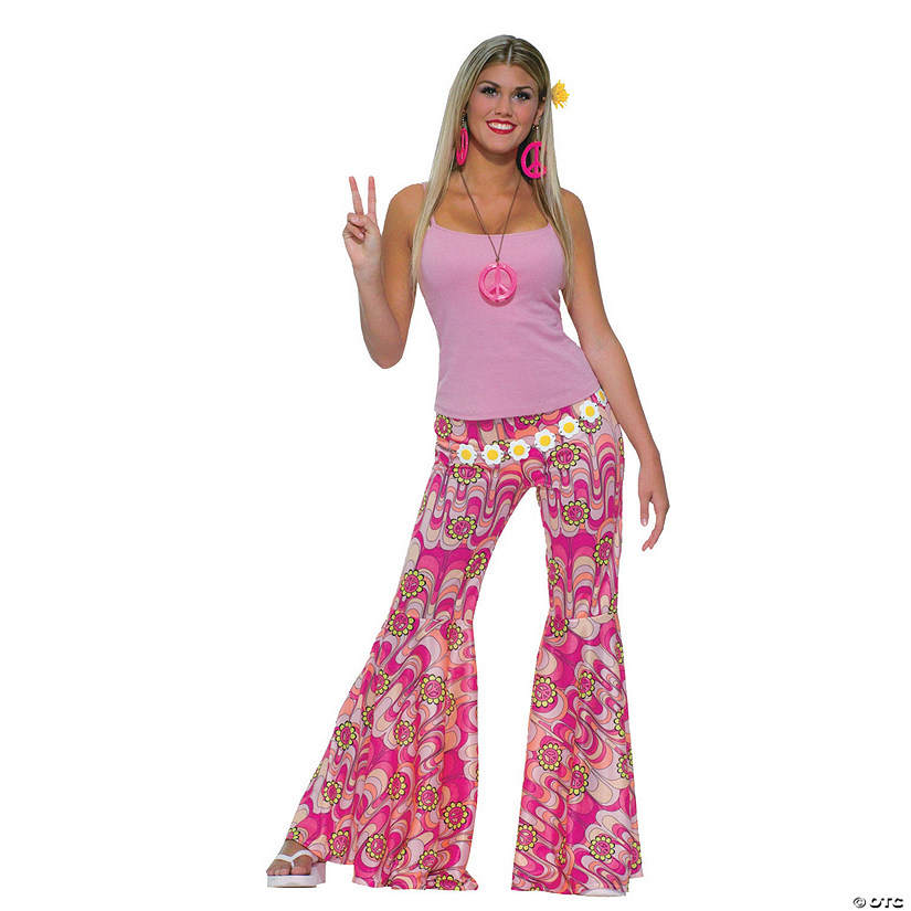 Women's Bell Bottom Pants Costume