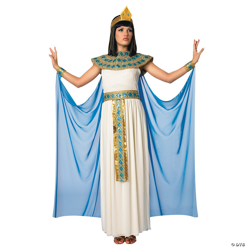 Women's Blue & White Cleopatra Costume