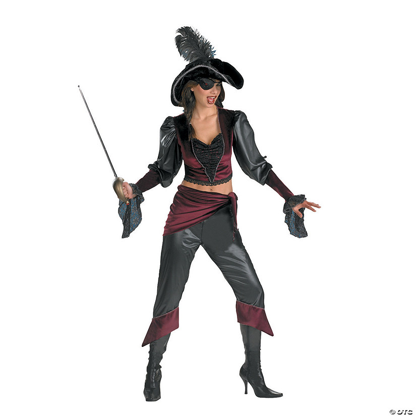 Women's Buccaneer Beauty Costume Audio Thumbnail