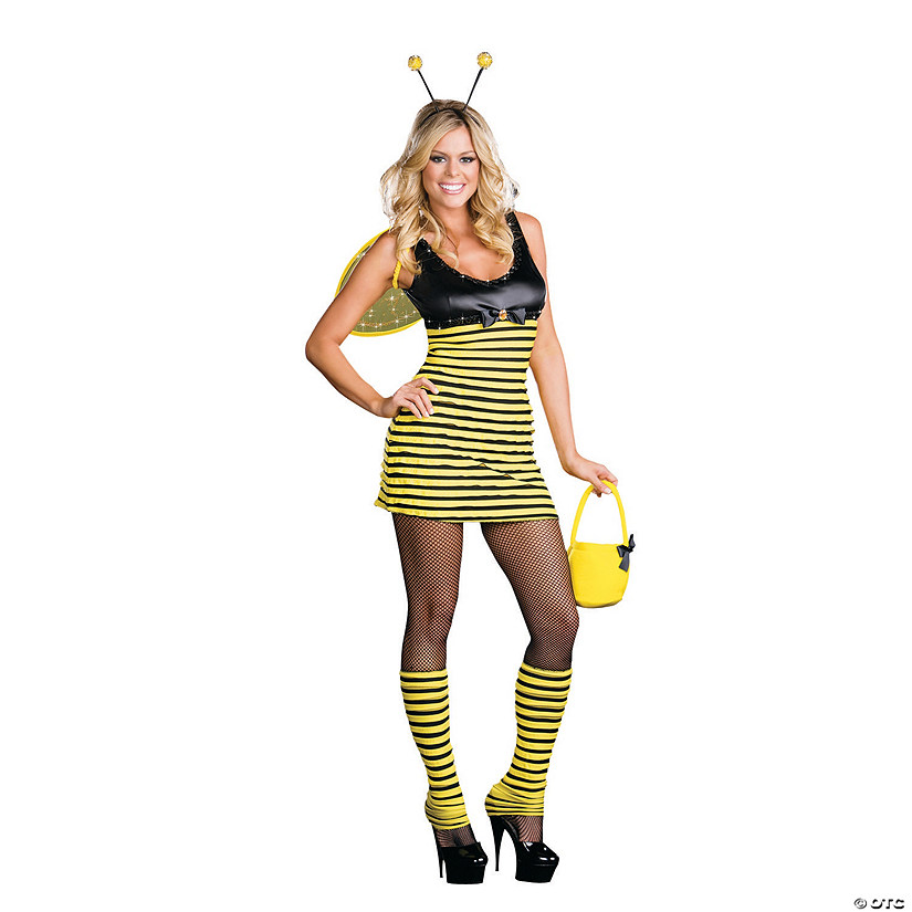 Women's Buzzin' Around Bee Costume Audio Thumbnail
