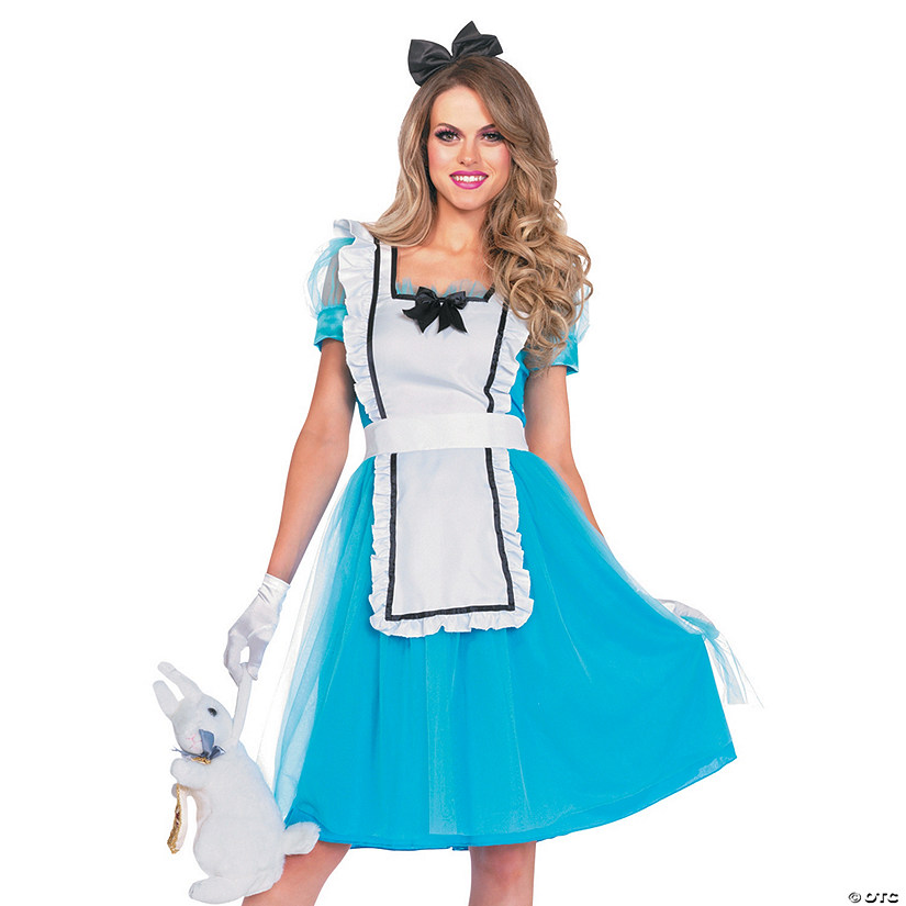 Women's Classic Alice in Wonderland™ Alice Costume Audio Thumbnail