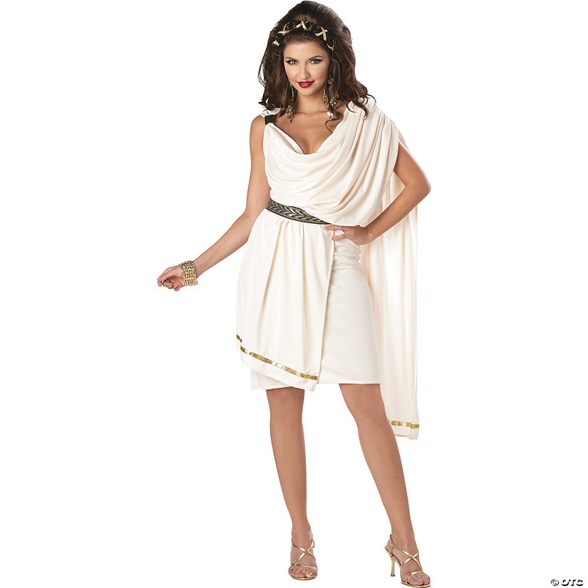 Women's Deluxe Classic Toga Costume Audio Thumbnail