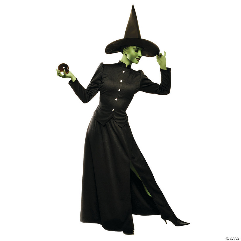 Women's Deluxe Classic Witch Costume Audio Thumbnail