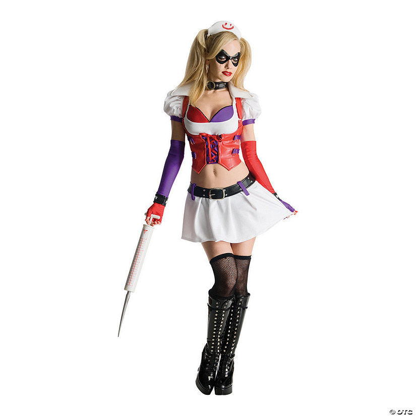 Women's Deluxe Harley Quinn Costume Audio Thumbnail