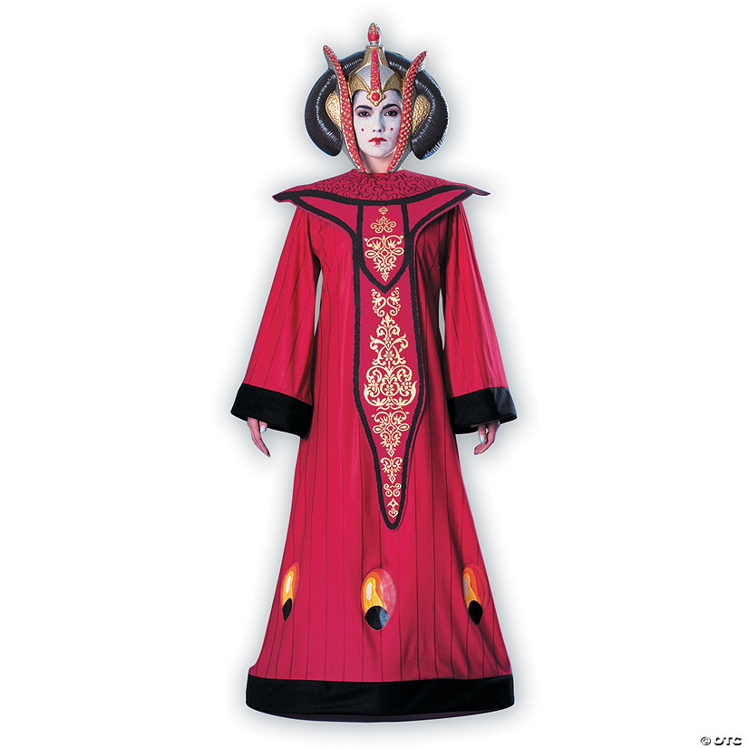 Women's Deluxe Star Wars™ Queen Amidala Costume Audio Thumbnail