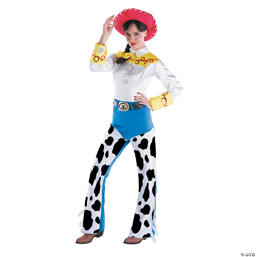 Women's Deluxe Toy Story™ Jessie Cowgirl Costume Audio Thumbnail