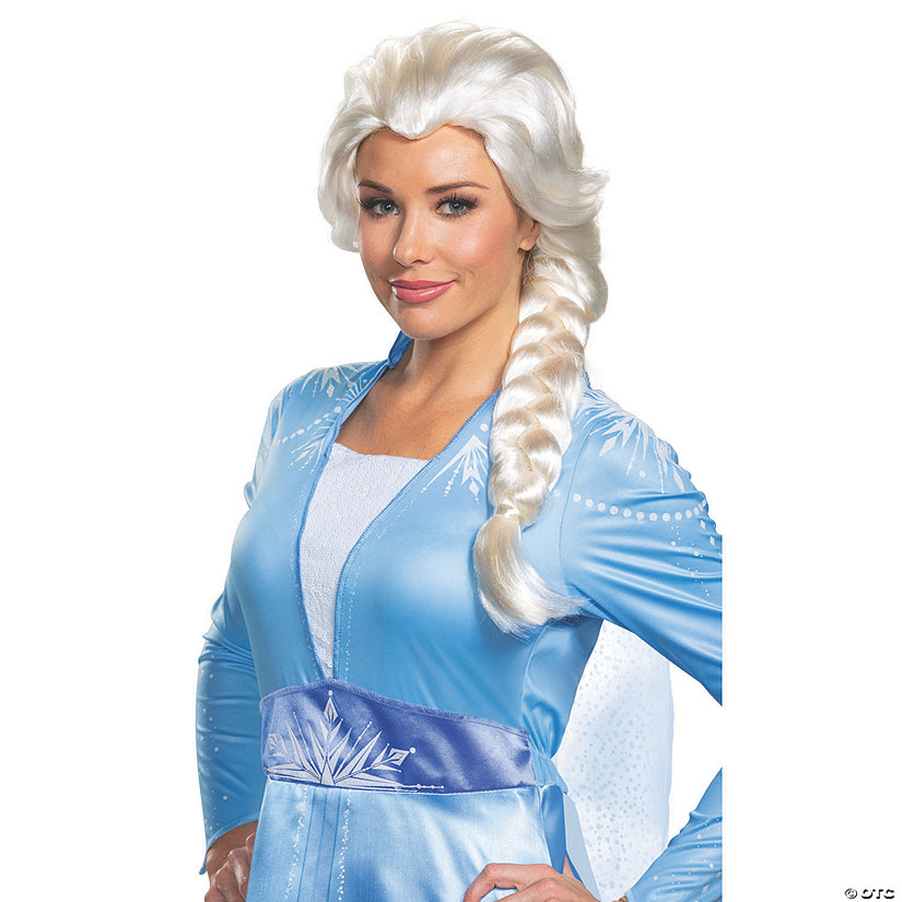 Women's Disney's Frozen II Elsa Wig Audio Thumbnail