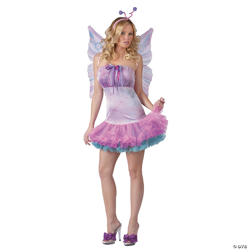 Women's Fluttery Butterfly Costume Audio Thumbnail
