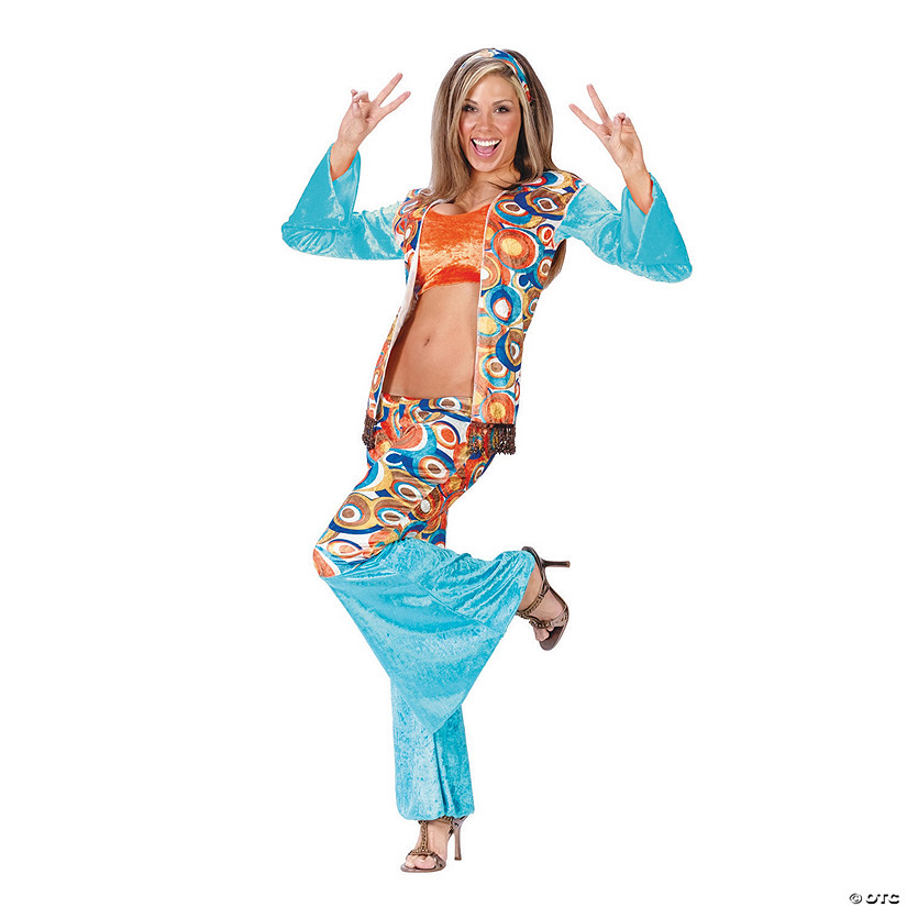 Women's Hippie Chic Costume