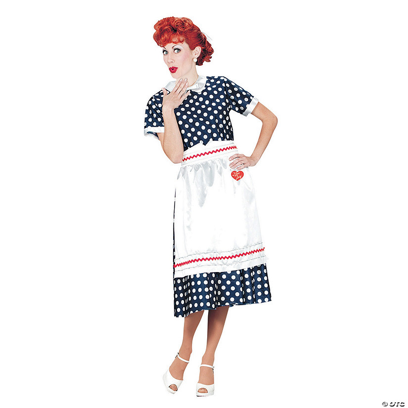 Women's I Love Lucy<sup>®</sup> Polka Dot Dress Costume
