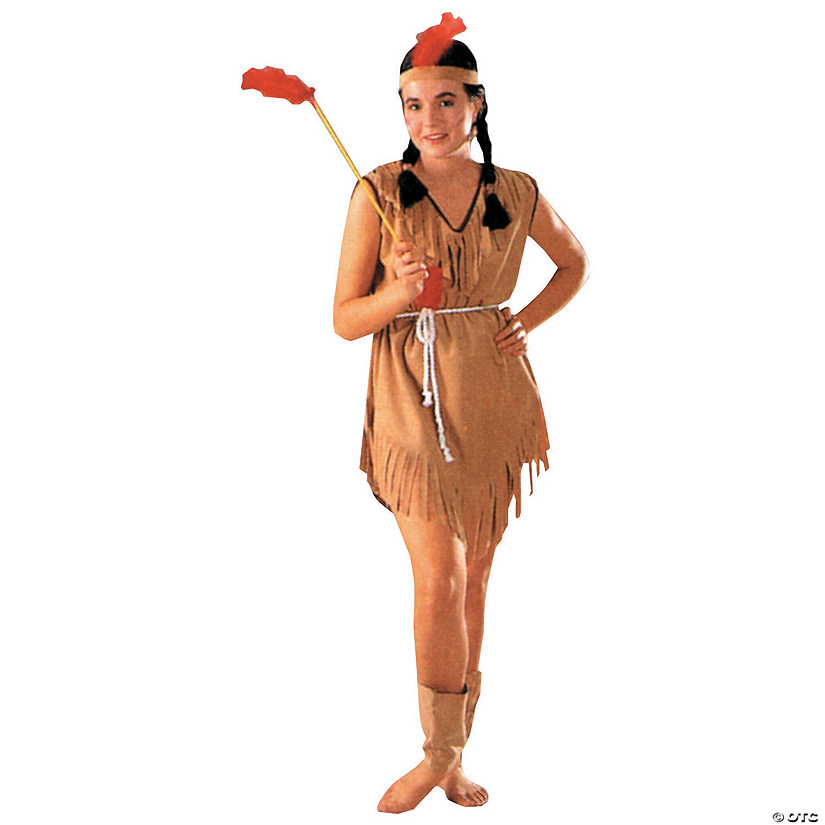 Women's Native American Lady Costume