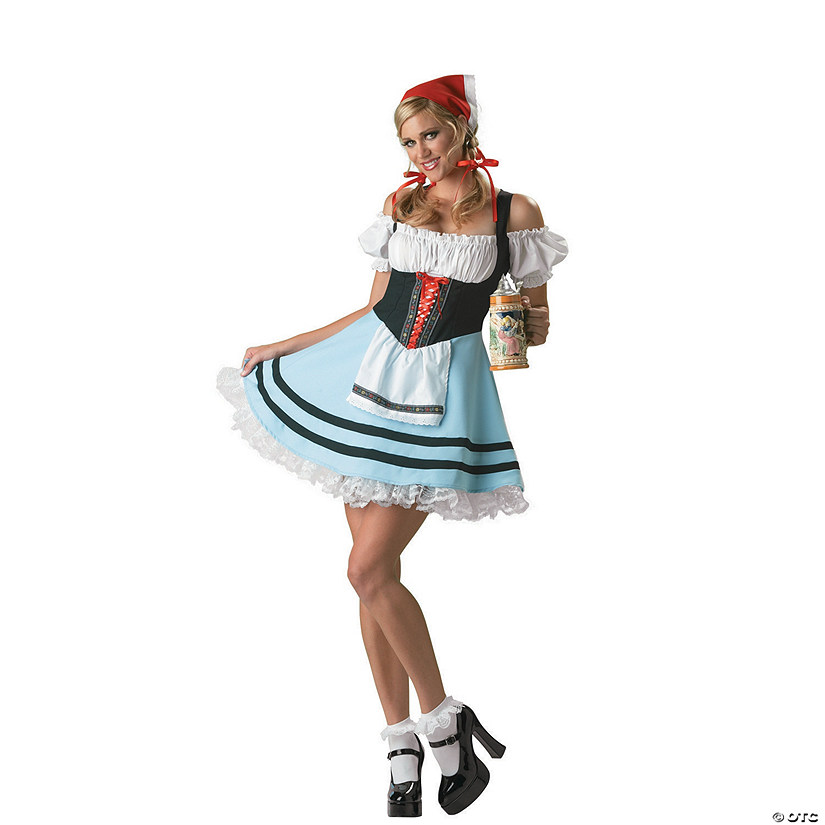 Women's Oktoberfest Girl Costume