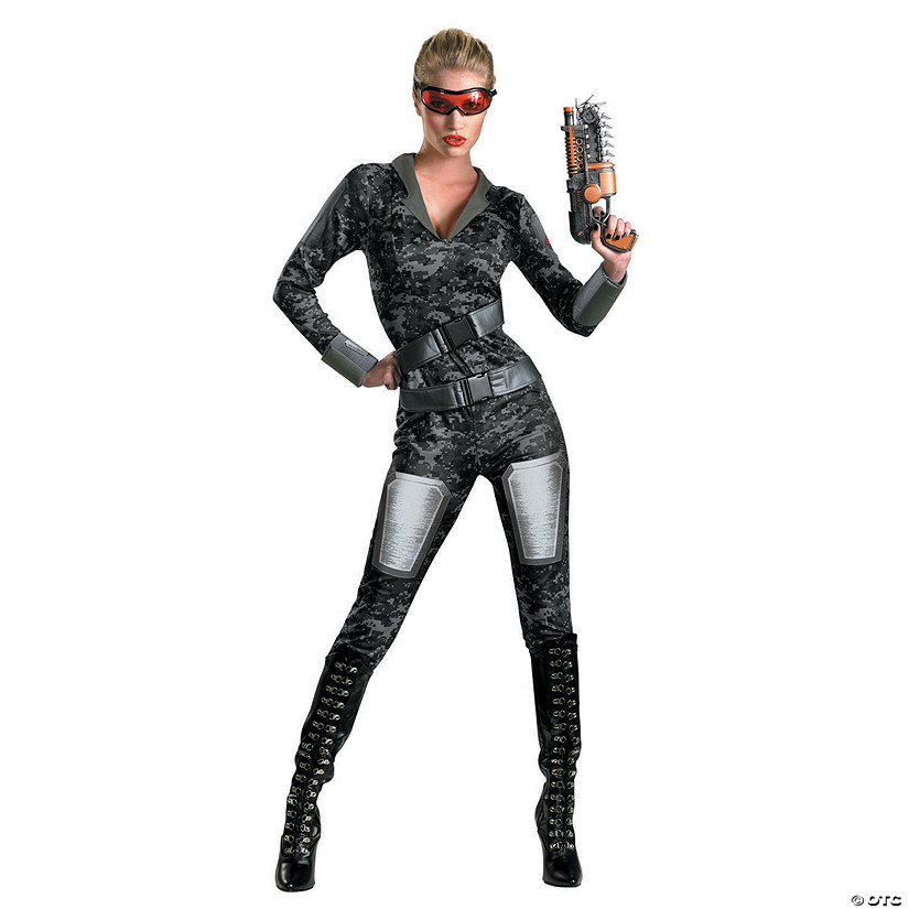Women's Operation Red Strike™ Lady Commando Costume