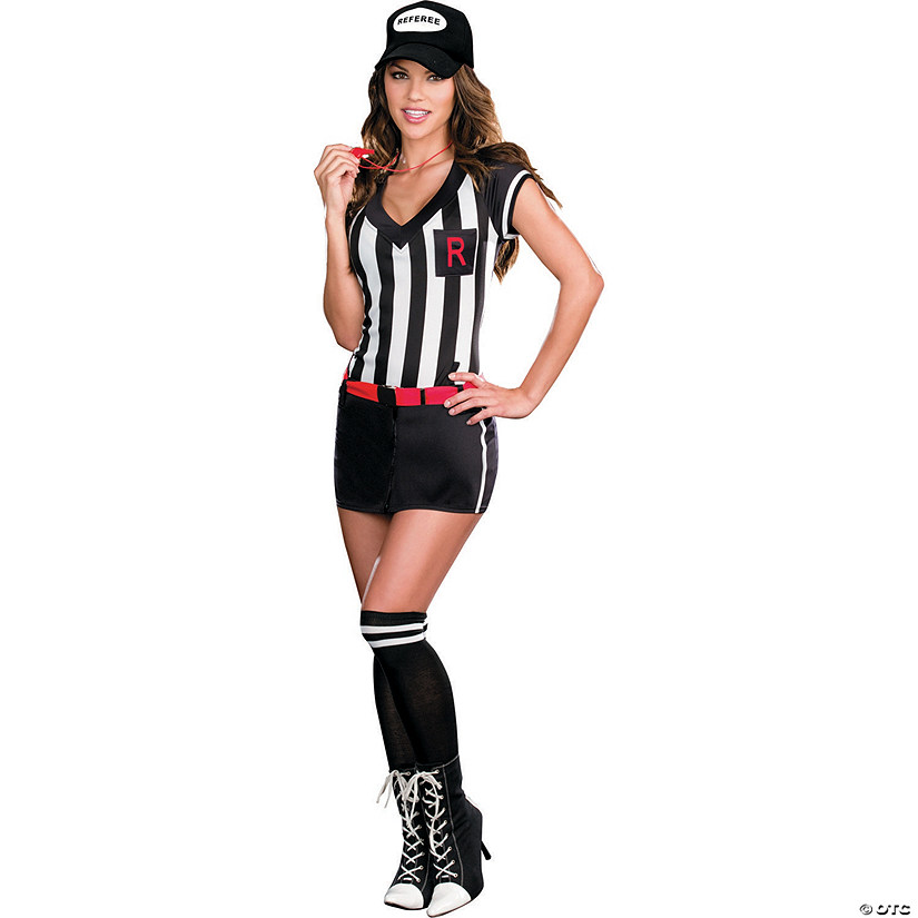 Women's Out Of Bounds Referee Costume Audio Thumbnail