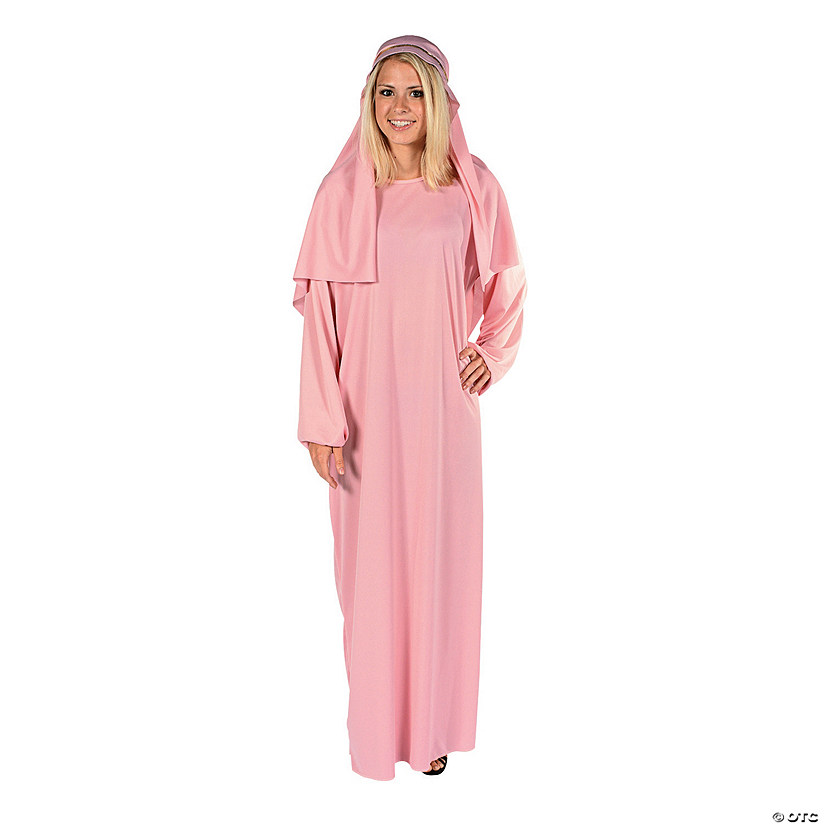 Women's Pink Nativity Robe & Headpiece Audio Thumbnail