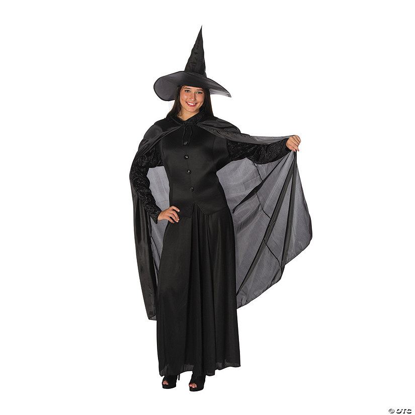 Women's Plus Size Classic Witch Costume