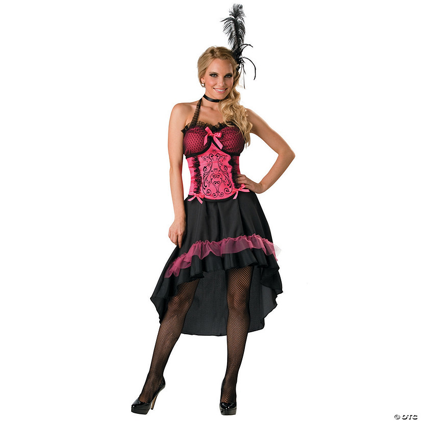 Women's Plus Size Saloon Gal Costume Audio Thumbnail