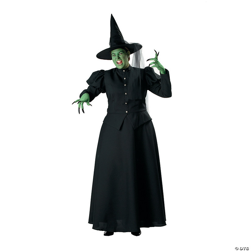 Women's Plus Size The Wizard of Oz™ Wicked Witch Costume Audio Thumbnail